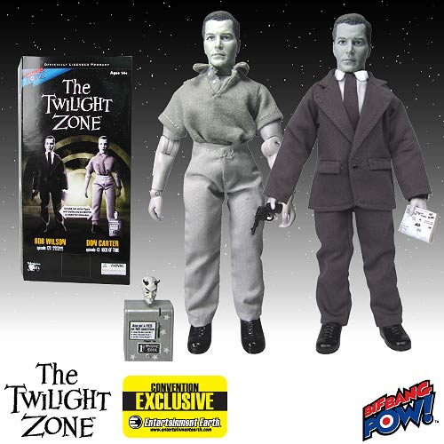 Twilight Zone Bob Wilson / Don Carter Figure Exclusive