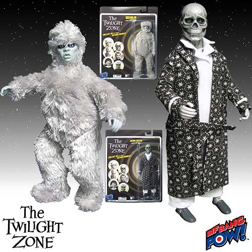 The Twilight Zone Gremlin and Jason Foster Action Figures
