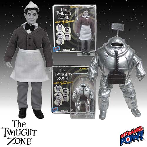 The Twilight Zone The Venusian And Invader Action Figures