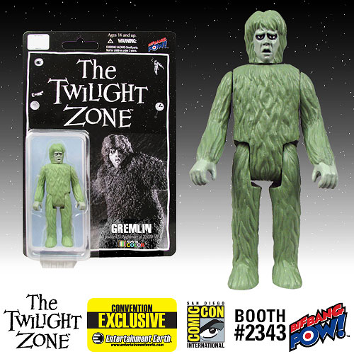 Twilight Zone Gremlin 3 3/4-Inch Figure In Color-Con. Excl.