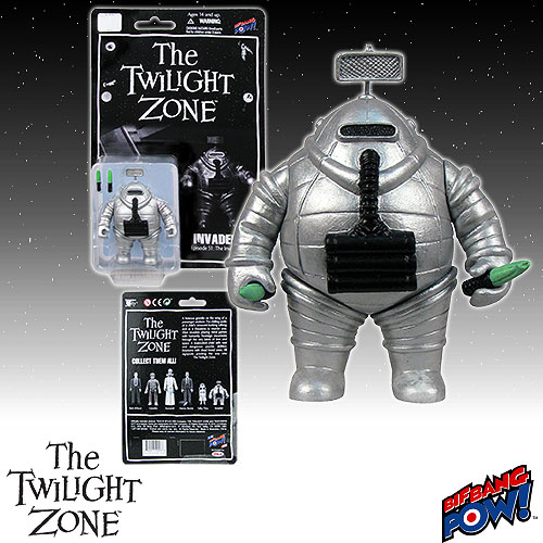 The Twilight Zone Invader 3 3/4-Inch Action Figure
