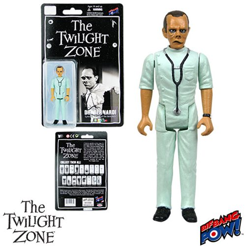 The Twilight Zone Doctor 3 3/4-Inch Action Figure In Green