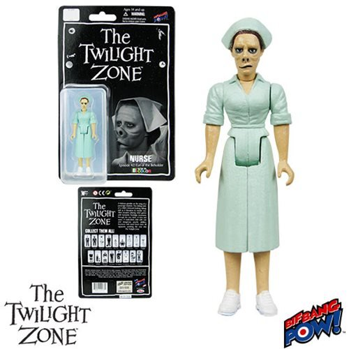 The Twilight Zone Nurse 3 3/4-Inch Action Figure In Green