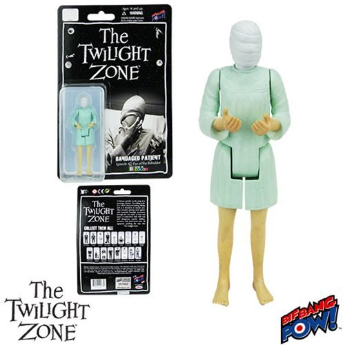 Twilight Zone Bandaged Patient 3 3/4-Inch Figure In Green