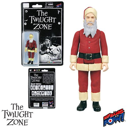 The Twilight Zone Santa Claus 3 3/4-Inch Figure In Color