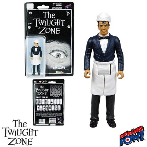Twilight Zone Three-Eyed Venusian 3 3/4-Inch Figure In Color