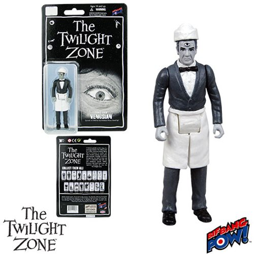 The Twilight Zone Venusian 3 3/4-Inch Figure , Not Mint