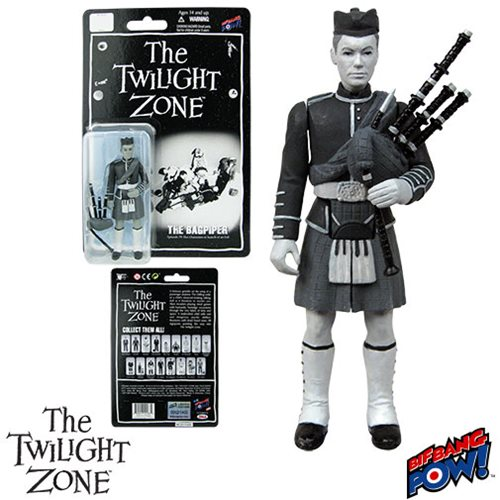 The Twilight Zone Bagpiper 3 3/4-Inch Figure, Not Mint