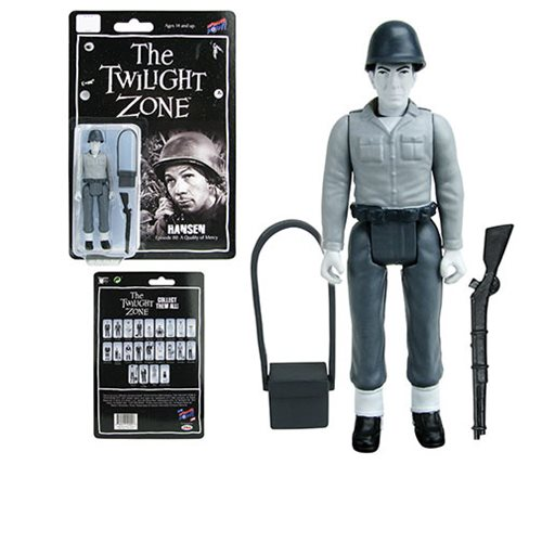 The Twilight Zone Hansen 3 3/4-Inch Action Figure, Not Mint