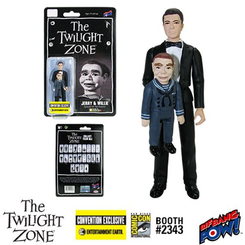 Twilight Zone Jerry and Willie 3 3/4 Figure Color-Con. Excl.