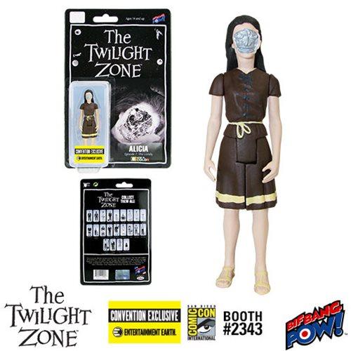 Twilight Zone Alicia 3 3/4-Inch Figure In Color - Con.Excl.