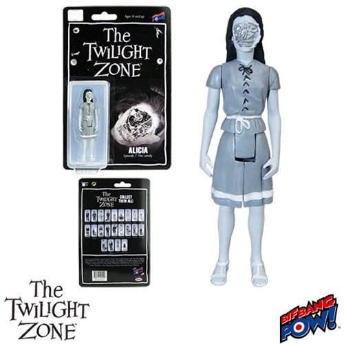The Twilight Zone Alicia 3 3/4-Inch Action Figure, Not Mint