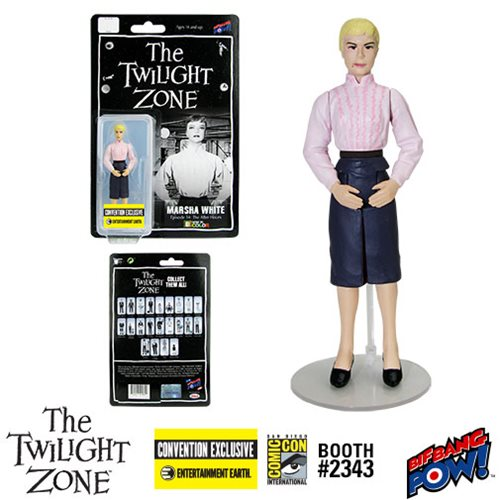 Twilight Zone Marsha White 3 3/4-Inch Figure Color-Con.Excl.