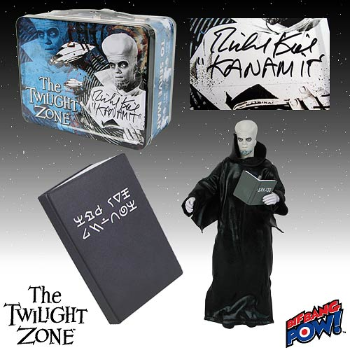The Twilight Zone Kanamit Cookbook Set SDCC Exclusive Signed