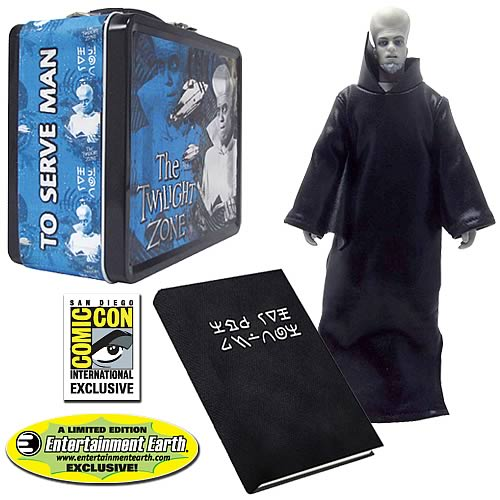 The Twilight Zone Kanamit's Cookbook Set - SDCC Exclusive