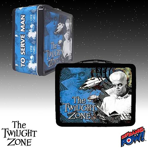 The Twilight Zone Kanamit Tin Tote