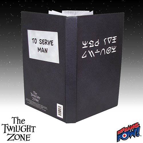 The Twilight Zone Kanamit Cookbook Journal