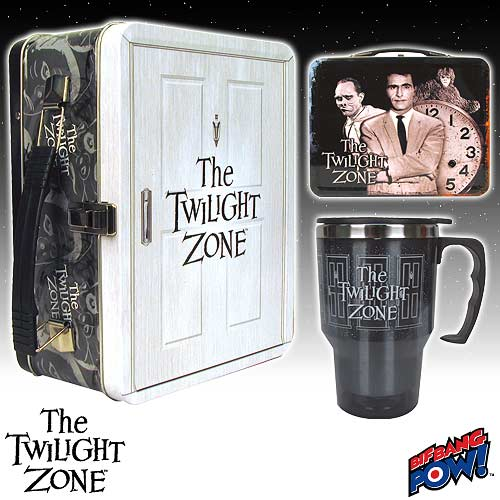 Twilight Zone Doorway to The Twilight Zone Tin Tote Gift Set