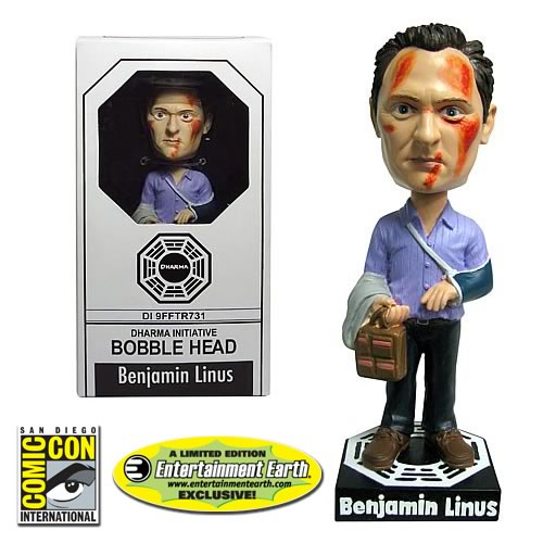 Lost Benjamin Linus Bobble Head - EE SDCC Exclusive