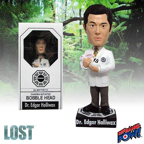 Lost Dr. Edgar Halliwax Bobble Head