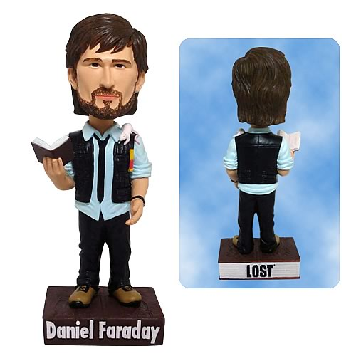 Lost Daniel Faraday Bobble Head