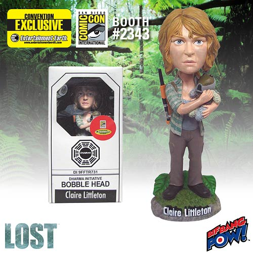 Lost Claire Littleton Bobble Head - SDCC Exclusive