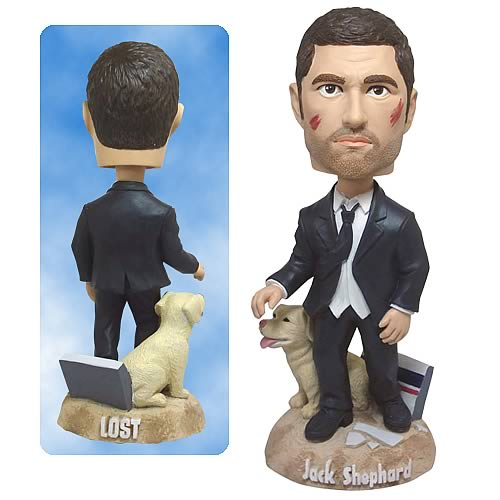 Lost Jack Shephard Bobble Head