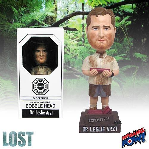 Lost Dr. Leslie Arzt Bobble Head