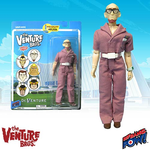 The Venture Bros. Dr. Venture 8-Inch Action Figure