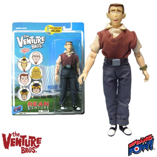 The Venture Bros. Dean Venture 8-Inch Action Figure