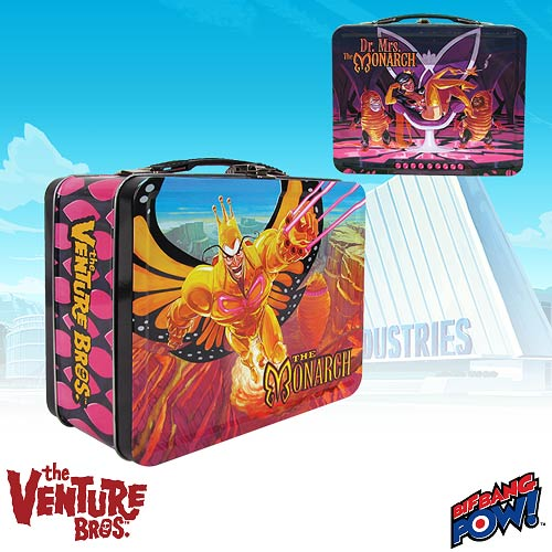 The Venture Bros. Monarch & Dr. Mrs. Monarch Tin Tote
