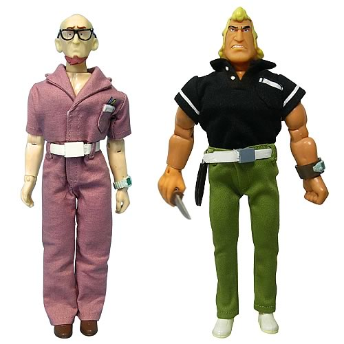 The Venture Bros. Dr. Venture & Brock Samson Action Figures