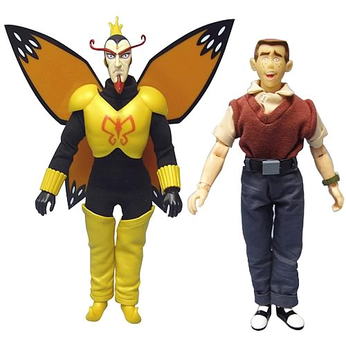 The Venture Bros. The Monarch & Dean Venture Action Figures