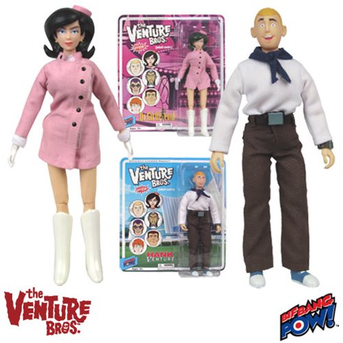 The Venture Bros. Dr. Girlfriend and Hank Action Figures