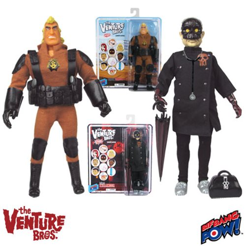 The Venture Bros. Brock Samson and Killinger Action Figures