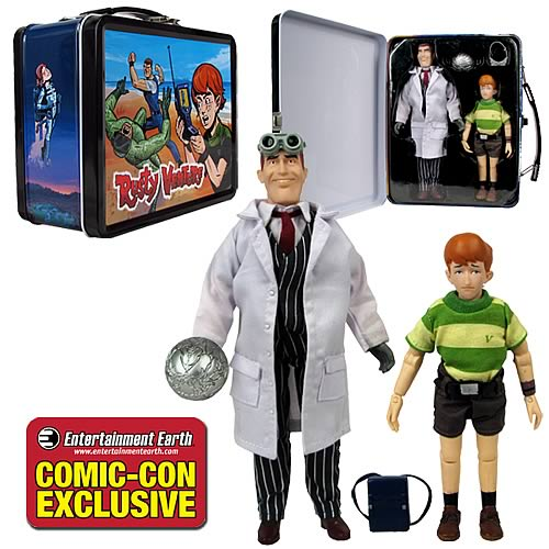 Venture Bros. Rusty & Jonas Venture Sr. w/Tin Tote Exclusive