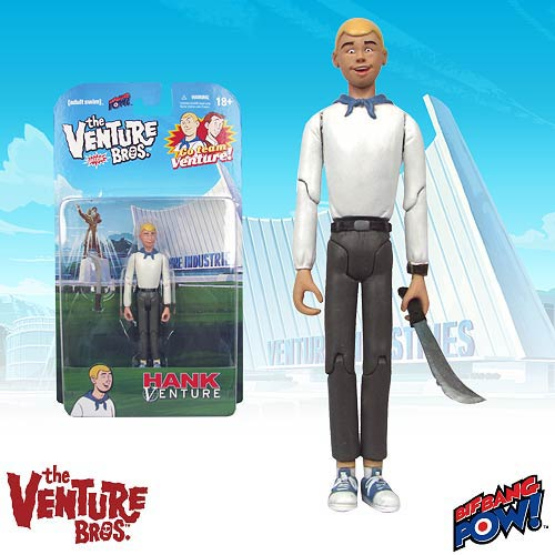 The Venture Bros. Hank Venture 3 3/4-Inch Action Figure