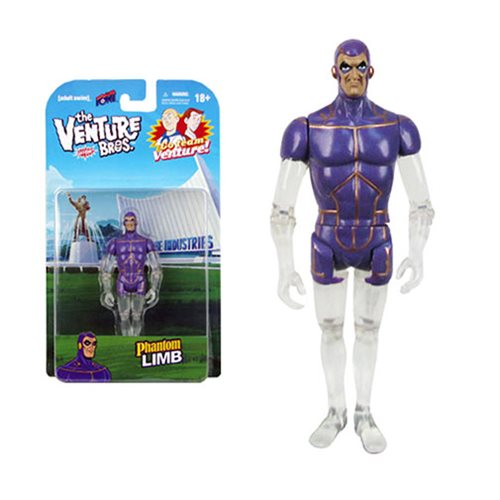Venture Bros. Phantom Limb 3 3/4-Inch Figure
