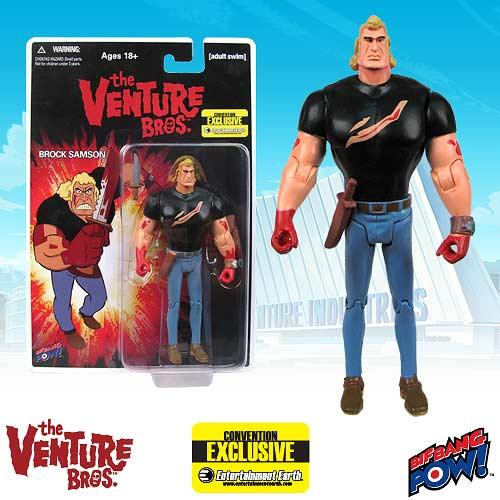 Venture Bros. Brock Bloody Shirt 3 3/4-Inch - Con. Exclusive