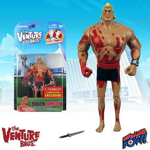 Venture Bros. Naked Brock 3 3/4-Inch Figure - Con Exclusive