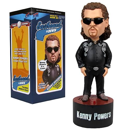 Eastbound & Down Talking Bobble Head Black Outfit