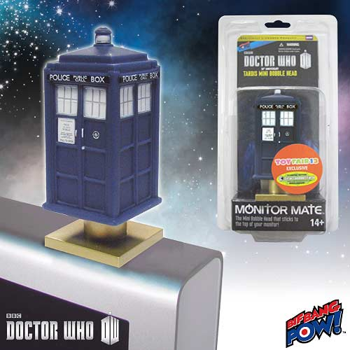 Doctor Who 50th Anniversary TARDIS Monitor Mate Toy Fair