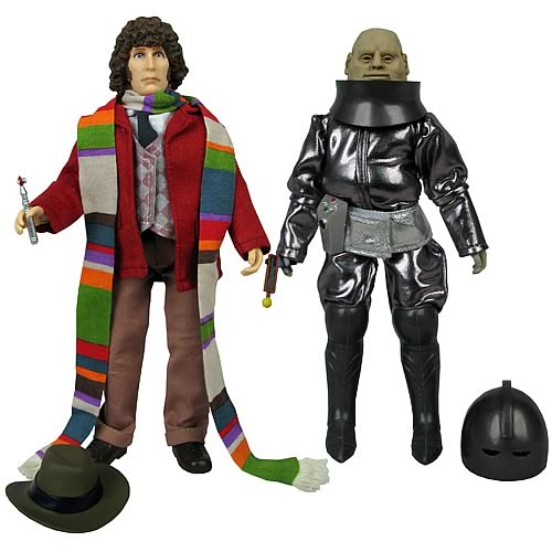 Doctor Who Fourth Doctor & Sontaran Styre Action Figures