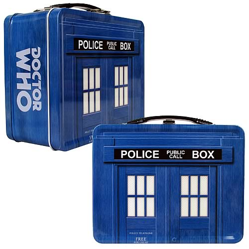 Doctor Who TARDIS Tin Tote
