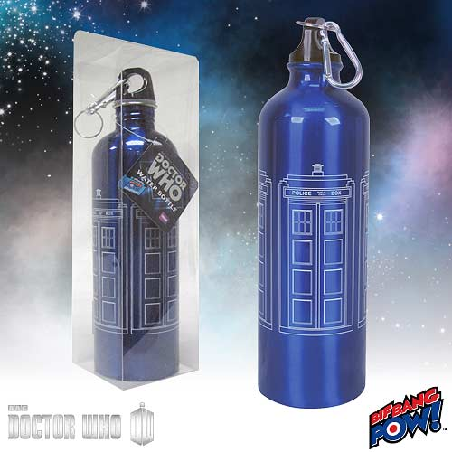 Doctor Who TARDIS 750 ml Water Bottle