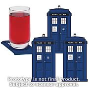 Doctor Who TARDIS Coasters Set of 4
