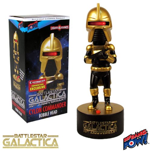 Battlestar Galactica Cylon Commander Bobble Head - Con.Excl.