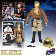 Battlestar Galactica Lt. Starbuck 8-Inch Figure Signed