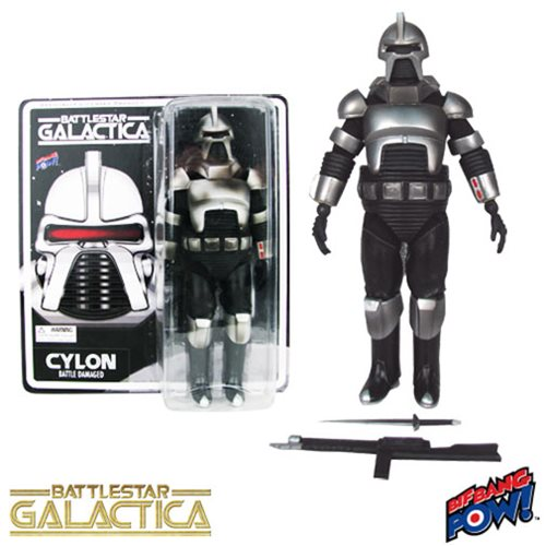 Battlestar Galactica Cylon (Battle Damaged) 8-Inch Figure