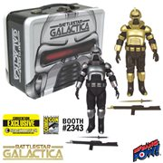 Battlestar Galactica Cylons w/Tin Tote - SDCC Exclusive